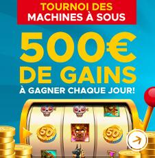 tournoi des machines à sous