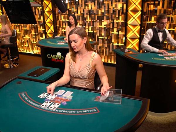Three Card Poker: €1 - €5k