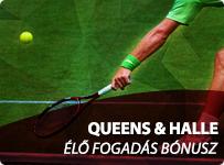 Queens & Halle - Élő Fogadás Bónusz