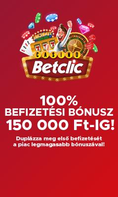Befizetési Bónusz Üdvözlő Ajánlat 150 000 Ft Bónusz