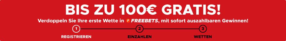 100€ GRATIS
