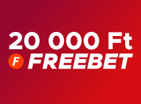 20 000 Ft FREEBET