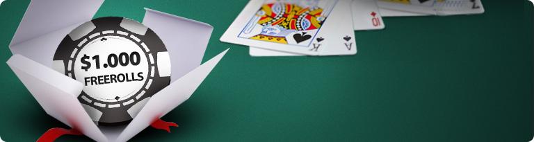 Betclic Poker - Tägliche Freerolls