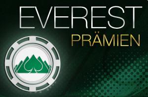Everest Poker - Everest-Prämien