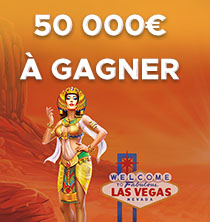 Egypte Ancienne Casino : 50 000€ à gagner