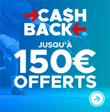 Cashback live tennis : 10% de tes mises live remboursées !