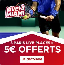 Miami 5€ offerts