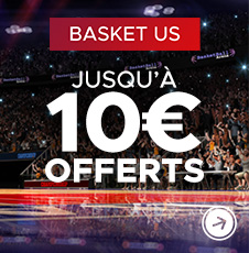 10€ offerts Basket US