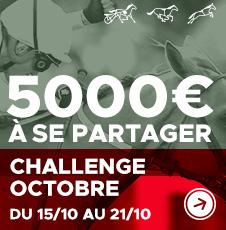 Challenge Octobre : 5000€ à gagner