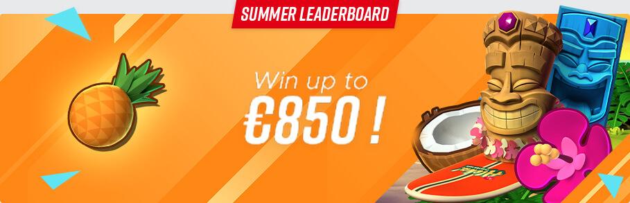 Summer Leaderboard