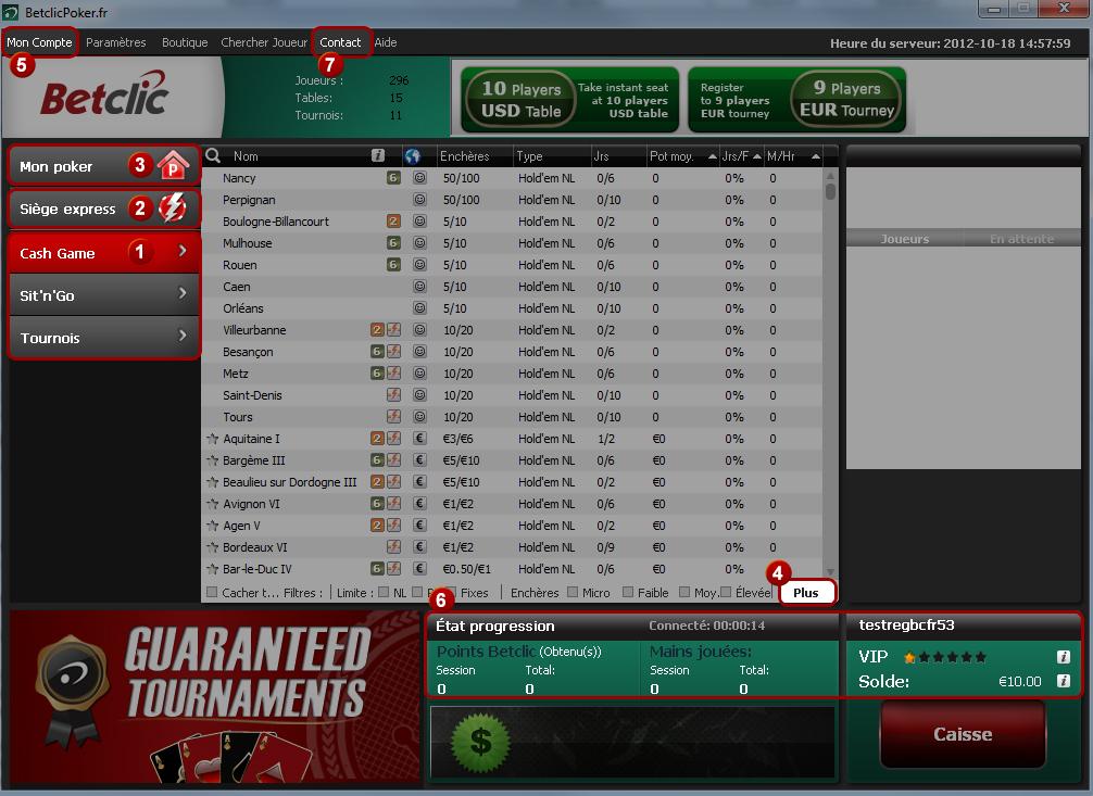 Poker aide logiciel
