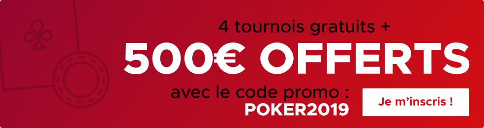 code promo betclic poker