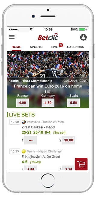 Betclic casino mobile download