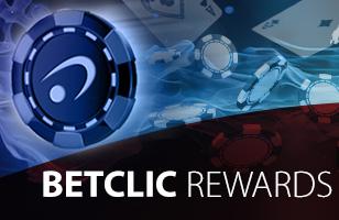 Betclic Online Poker - Janurary Rewards Giveaway