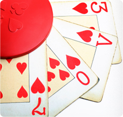 Valentines poker