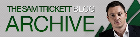 Sam Trickett Blog