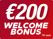 Casino Welcome Bonus up to 200 EUR