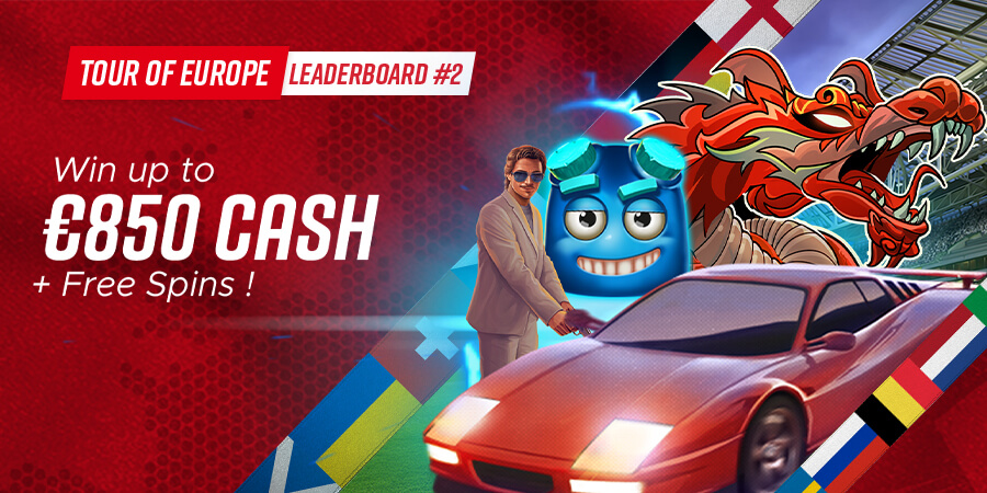 Tour of Europe Leaderboard #2: 8 Prizes up to €850 Cash!
