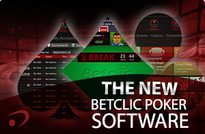 New Betclic Poker Software