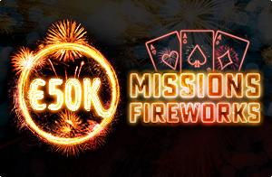 Betclic Online Poker - Mission Fireworks