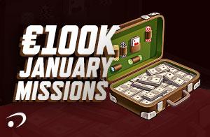 €100K January Missions