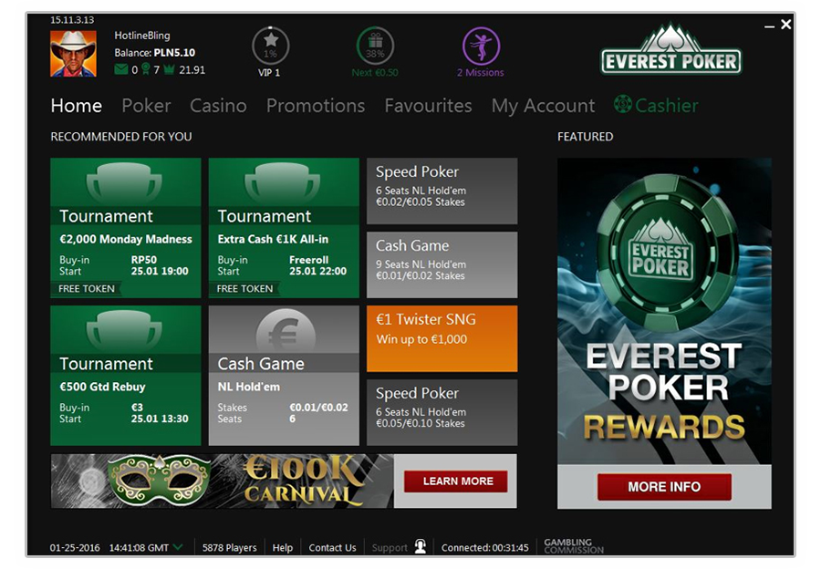 everestpoker software