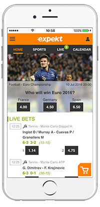 Mobile Sports Betting Expekt | Mobile Live Sport Betting