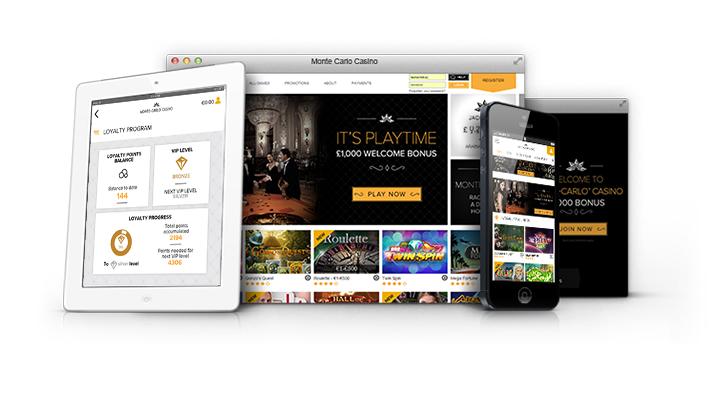Montecarlo casino on iOS