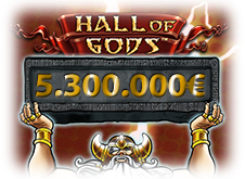 Jackpot Hall of Gods